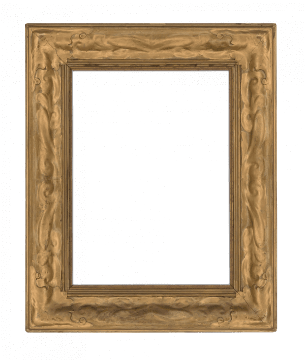 French 19th Century Art Nouveau Cove Frame