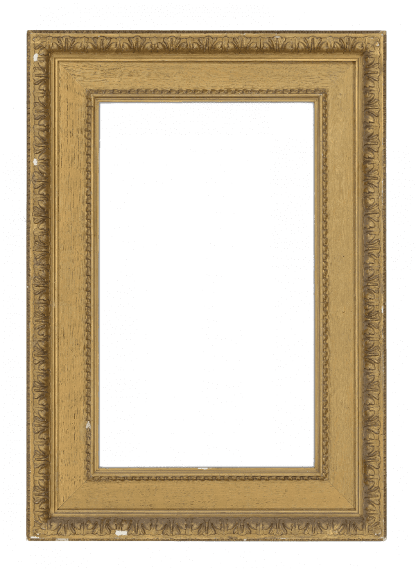 American 19th Century Oak Continuous  Panel Frame